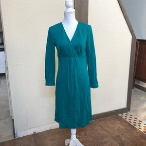 Teal Dress by Worth